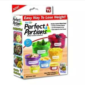 Perfect portions control containers (14pcs)
